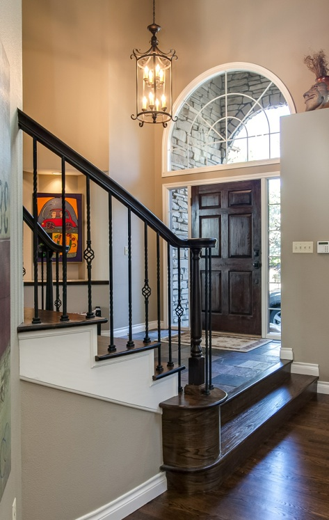 Story Foyer Definition : Prospect drive entry foyer